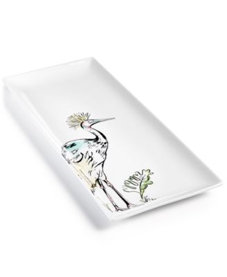 CLOSEOUT! Tropicalia Large Bird Platter, Created for Macy's