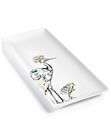 CLOSEOUT! The Cellar Tropicalia Large Bird Platter, Created for Macy's