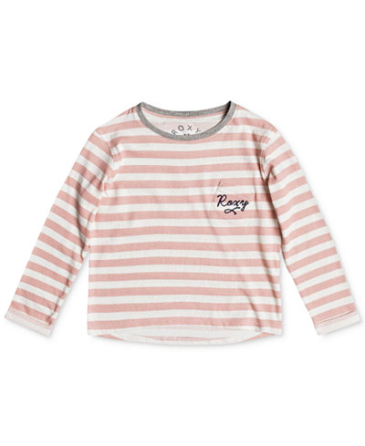 Roxy Ocean of Story Cotton T-Shirt, Little Girls
