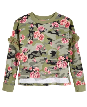 Tinsey Floral-Print Camouflage...