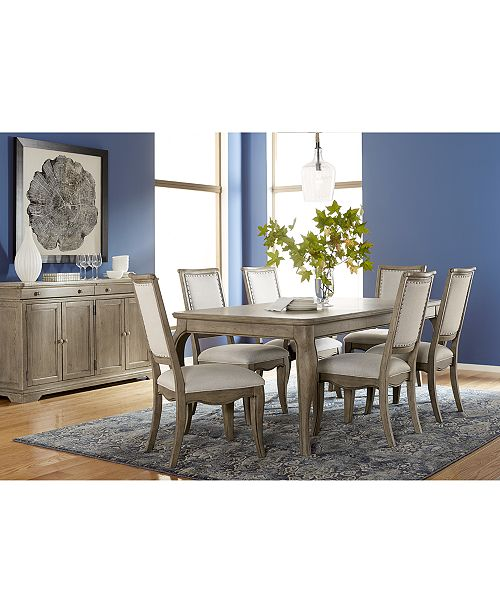 Furniture Martha Stewart Bergen Expandable Dining ...