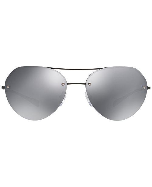 554287ae0b3e ... coupon code for prada linea rossa sunglasses ps 57rs sunglasses by  sunglass hut men macys 4c255