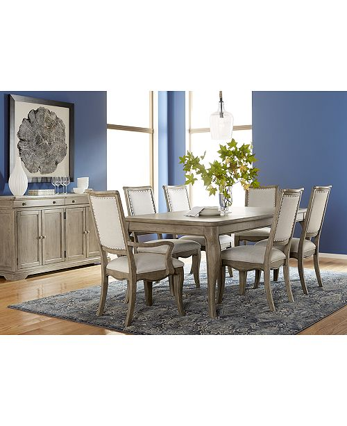 Furniture Martha Stewart Bergen Dining Furniture, 7-Pc