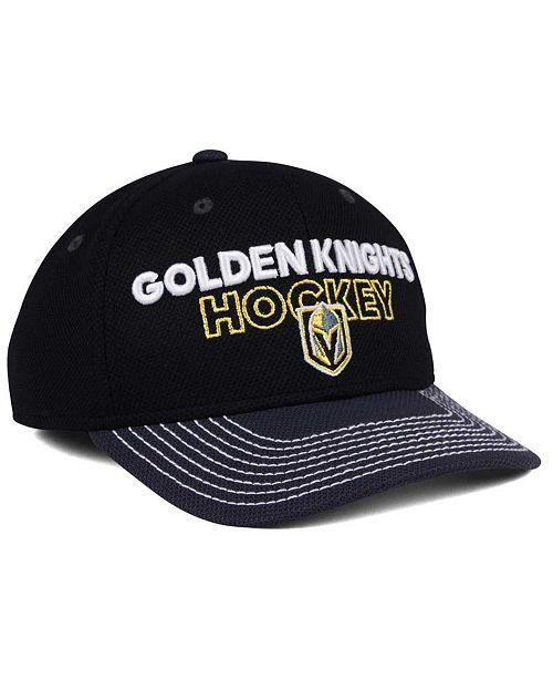 bf425dce ... authentic adidas vegas golden knights locker room structured flex cap  sports fan shop by lids men