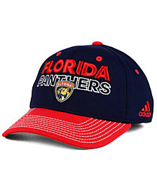 adidas Florida Panthers Locker Room Structured Flex Cap