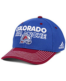 adidas Colorado Avalanche Locker Room Structured Flex Cap