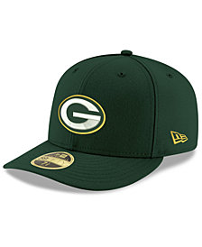 New Era Green Bay Packers Team Basic Low Profile 59FIFTY Fitted Cap