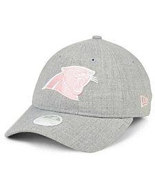 New Era Women's Carolina Panthers Custom Pink Pop 9TWENTY Cap
