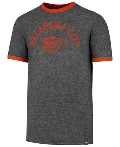 '47 Brand Men's Oklahoma City Thunder Capital Ringer T-Shirt