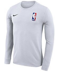 Nike Men's NBA League Logo Dri-FIT Team 31 Long Sleeve T-Shirt