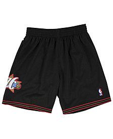 Mitchell & Ness Men's Philadelphia 76ers Swingman Shorts