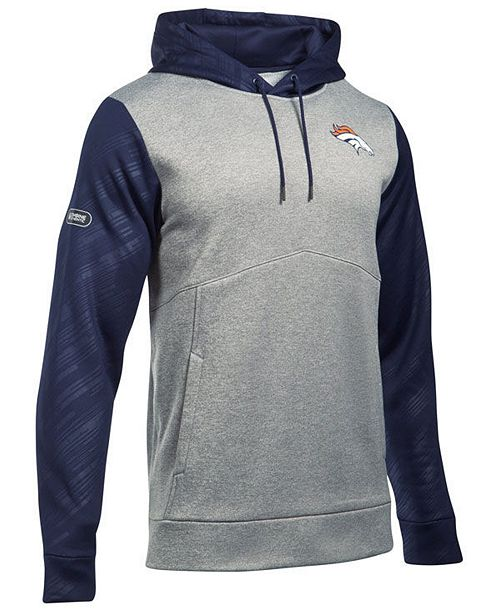 buy popular 50cb0 3c961 Under Armour Men's Denver Broncos Armour Fleece Hoodie ...
