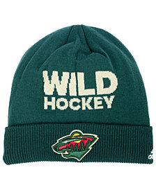 adidas Minnesota Wild Player Knit