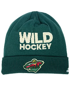 adidas Minnesota Wild Player Knit