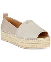 18dacbd90423 DKNY Mer Peep-Toe Espadrille Sandals,Created for Macy's