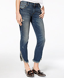 STS Blue Extreme Tulip Hem Skinny Jeans