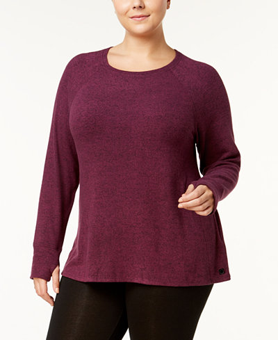 Calvin Klein Performance Plus Size Sweatshirt