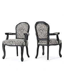 Dannel Armchair (Set Of 2), Quick Ship
