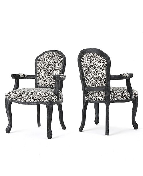 Carriage Co Dannel Armchair Set Of 2 Quick Ship Furniture