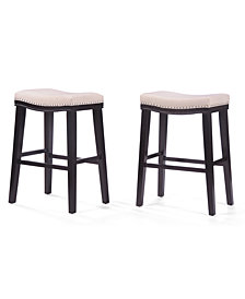 Almar Backless Bar Stool (Set Of 2), Quick Ship