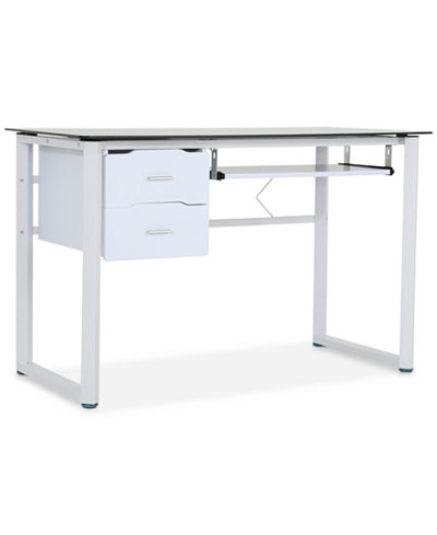 Bassey Computer Desk, Quick Ship