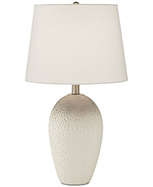 Pacific Coast Ceramic Dimpled Table Lamp