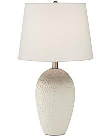Pacific Coast Ceramic Dimpled Table Lamp