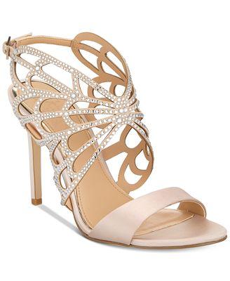 Badgley Mischka Taresa Evening Sandals Women's Shoes