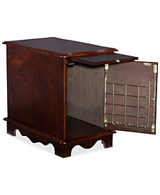 Cheltan Magazine Cabinet Table, Quick Ship