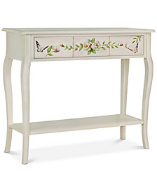 Floral Gardens Console Table, Quick Ship