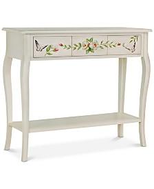 Floral Gardens Console Table, Quick Ship