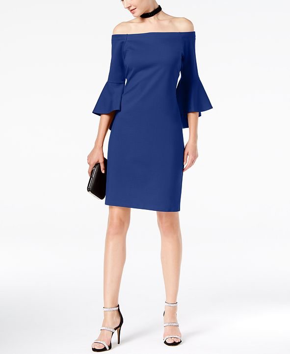 INC International Concepts I.N.C. Off-The-Shoulder Dress, Created for Macy's