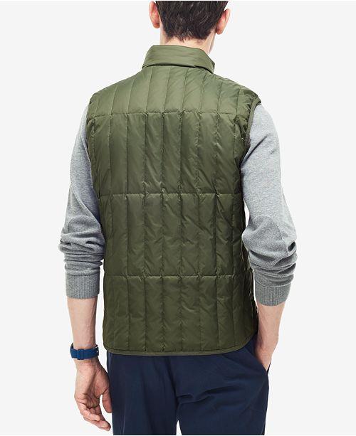b9d476bdd Lacoste Men s Packable Down Vest   Reviews - Coats   Jackets - Men ...