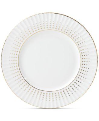Golden Waterfall Salad Plate