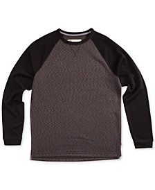Levi's® Men's Andover Raglan-Sleeve Fleece T-Shirt