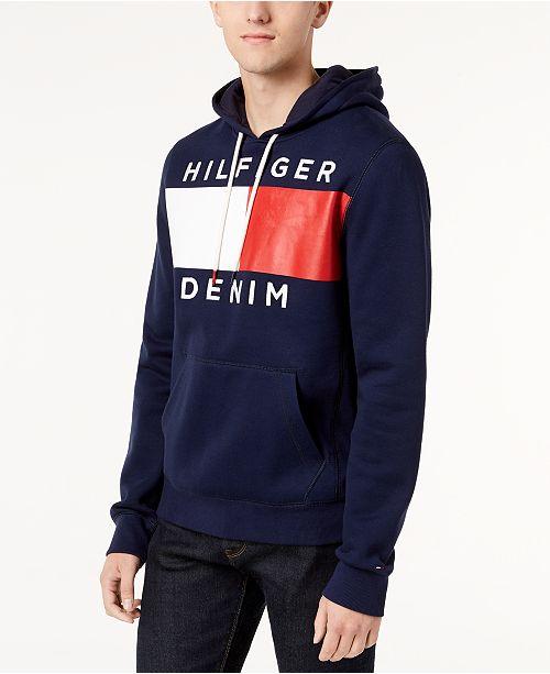 Tommy Hilfiger Flag Zip Hoodie in 2019   Tommy hilfiger sale
