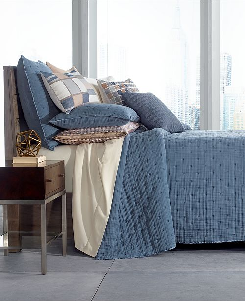 Hotel Collection CLOSEOUT! Patchwork King Coverlet, Created for Macy's