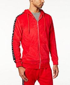 American Stitch Men's Velour Full-Zip Track Jacket