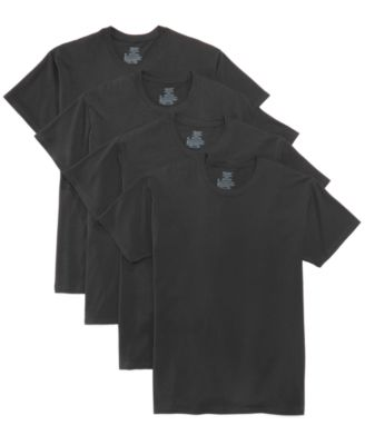 06a4249ea37c1 Hanes Men s 4-Pk. Platinum Stretch T-Shirts   Reviews - Underwear   Socks -  Men - Macy s