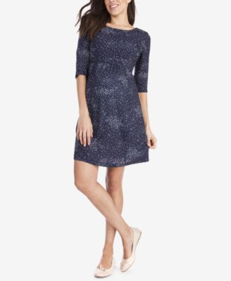 Seraphine Maternity Printed A Line Dress