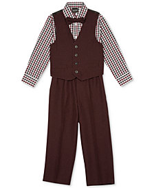 TFW 4-Pc. Vest, Shirt, Pants & Bowtie Set, Little Boys