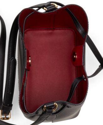 31d90f894613 Dryden Debby II Mini Leather Drawstring Bag