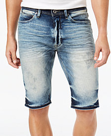 Sean John Men's Pyrite Skinny Fit Stretch Denim Shorts, Created for Macy's