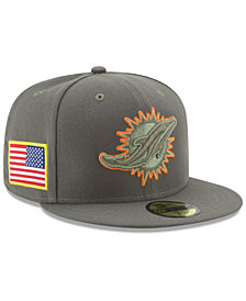 New Era Miami Dolphins Salute To Service 59FIFTY Fitted Cap
