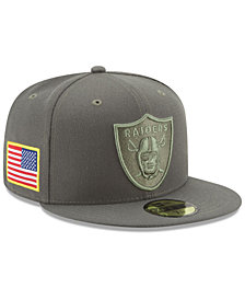 New Era Oakland Raiders Salute To Service 59FIFTY Fitted Cap