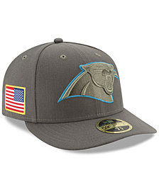 New Era Carolina Panthers Salute To Service Low Profile 59FIFTY Fitted Cap