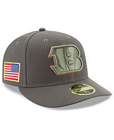 New Era Cincinnati Bengals Salute To Service Low Profile 59FIFTY Fitted Cap