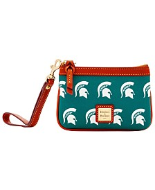Dooney & Bourke Michigan State Spartans Exclusive Wristlet