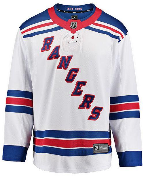 Fanatics Men's New York Rangers Breakaway Jersey