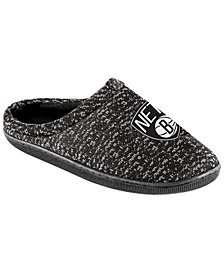 Forever Collectibles Brooklyn Nets Knit Cup Sole Slipper